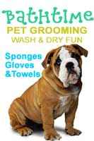 Bathtime pet care and grooming